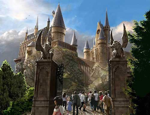 Parque Tematico de Harry Potter !